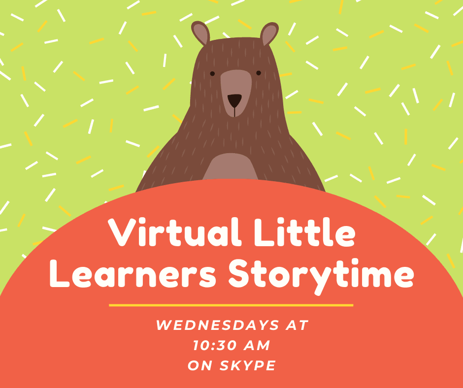 Virtual Little Learners Storytime